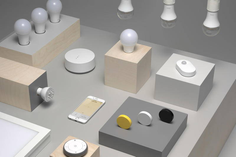 IKEA Trådfri Lighting App Sensors Bulbs