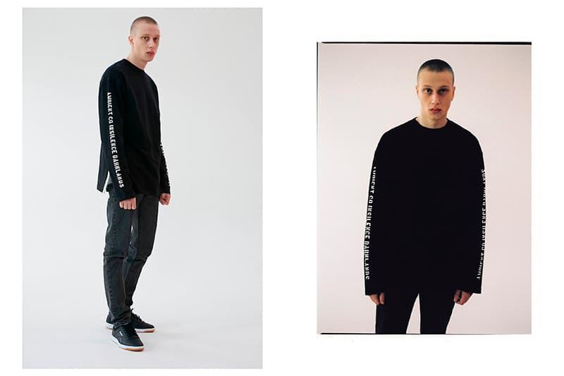 "IN SILENCE's ""Darkland"" 2017 Spring/Summer Collection Lookbooks Urban Streetwear"