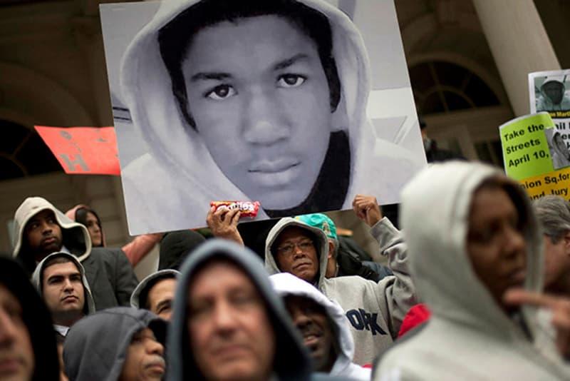 Trayvon Martin In Hoodie