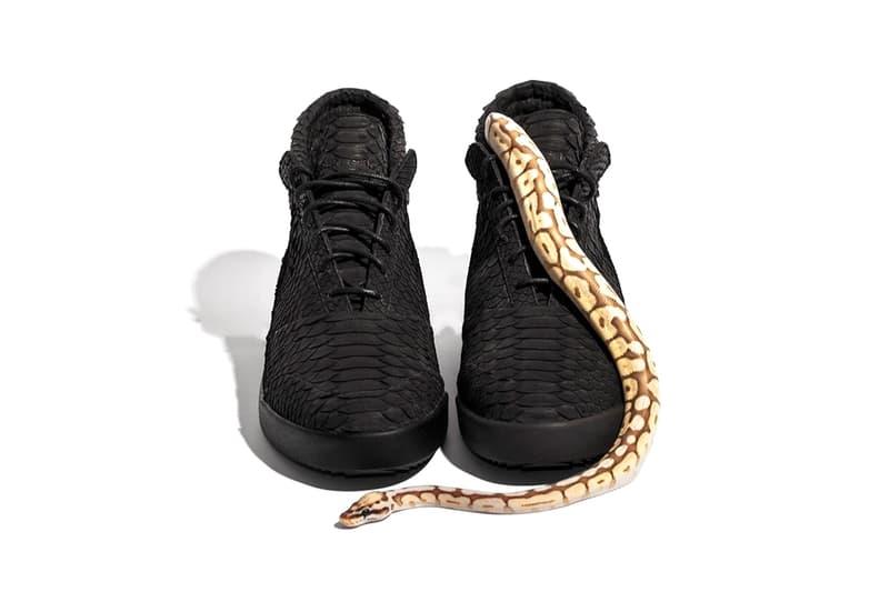 John Geiger Python Suede 001 Shoe