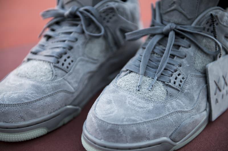 brand new 78d1d 74558 KAWS x Air Jordan 4 Closer Look | HYPEBEAST