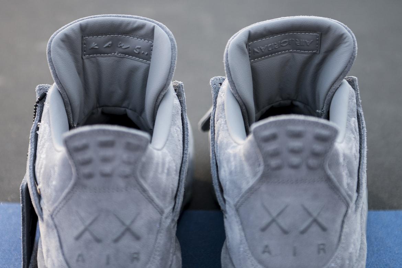 brand new 9ace6 b671e KAWS x Air Jordan 4 Closer Look | HYPEBEAST