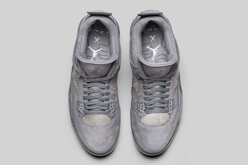 KAWS Air Jordan 4 Official Images