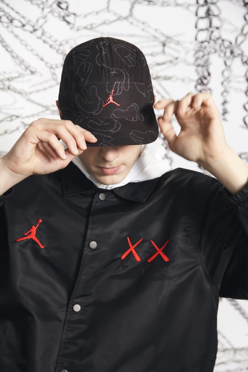 KAWS x Jordan Capsule Coaches Jacket Cap