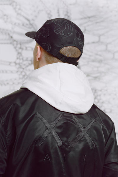 KAWS x Jordan Capsule Coaches Jacket Back Cap Back