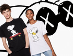Here's Your First Look at the KAWS x Peanuts Uniqlo UT Collection