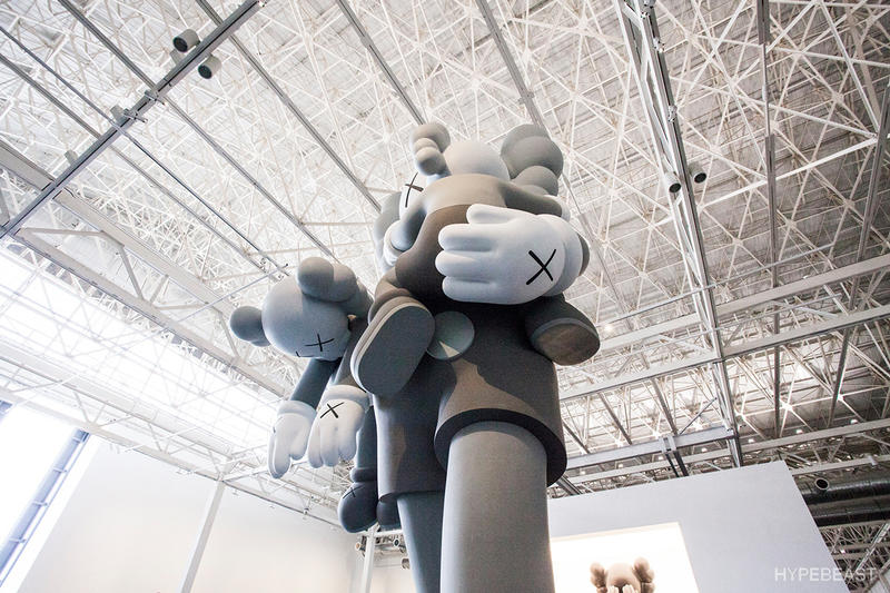 KAWS 'Where The End Starts' Exhibition Shanghai Michelin Man Black Snoopy