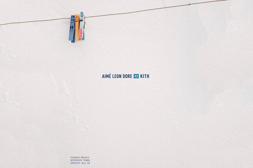 Ronnie Fieg KITH Aimé Leon Dore Collaboration Greece