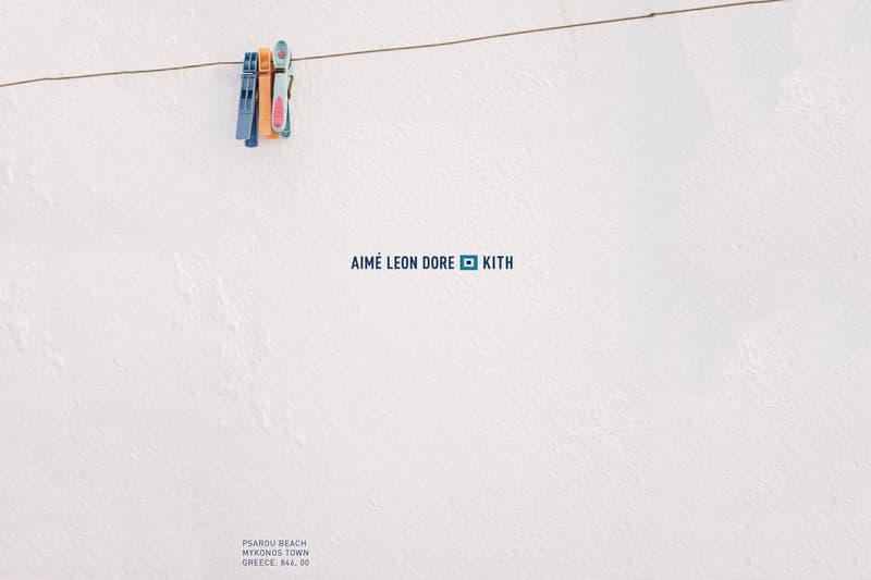Ronnie Fieg KITH Aimé Leon Dore Collaboration Greece