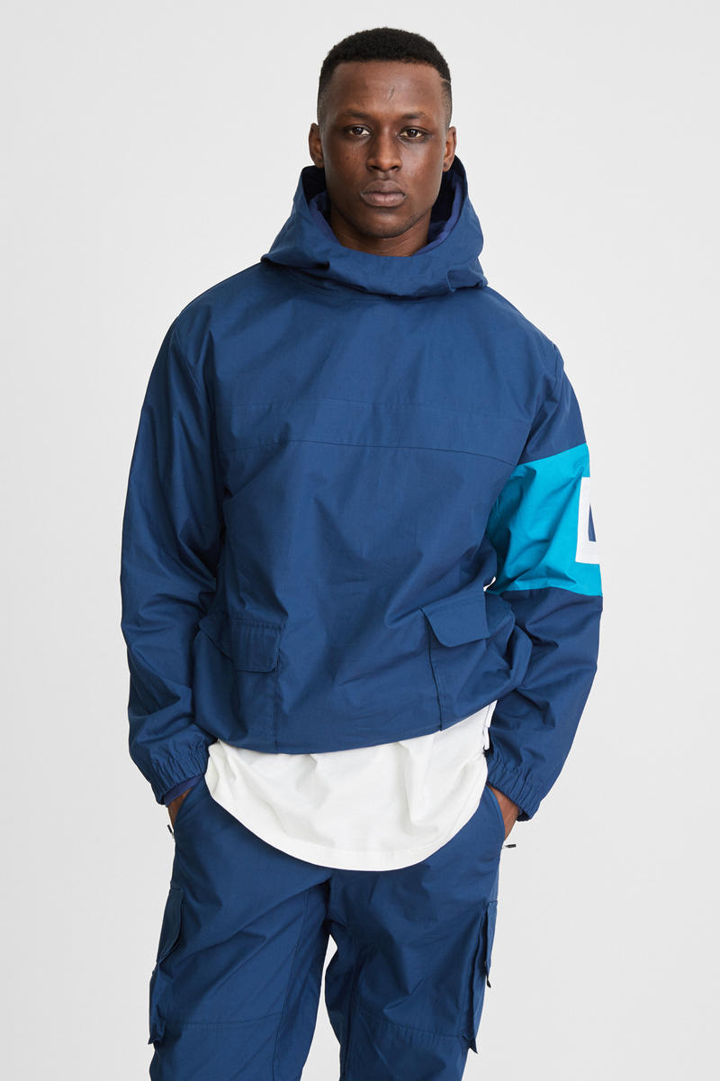 KITH x Aimé Leon Dore Mykonos Collaboration Navy Nammos Pullover Sailing Jacket Front