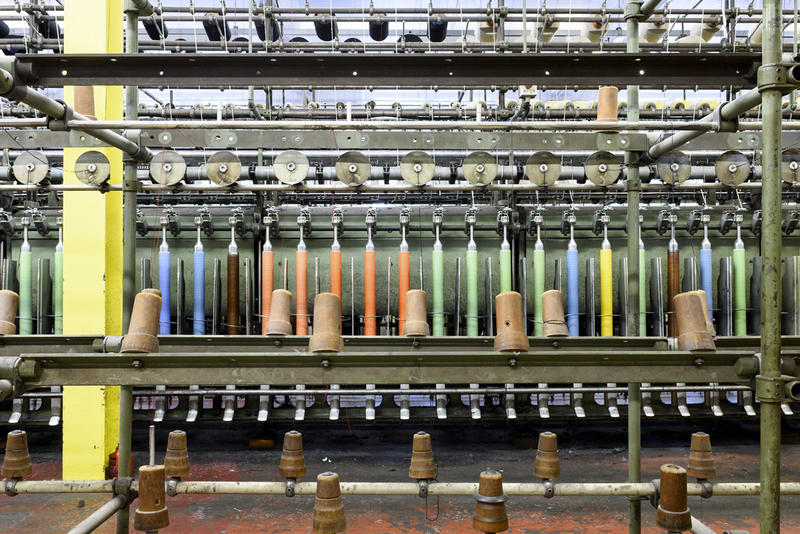 Inside the Factory That Makes Raf Simons' Fabrics