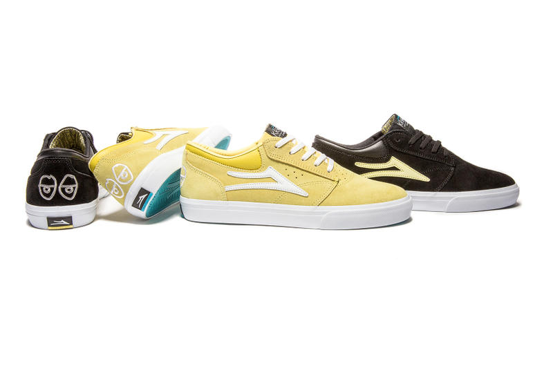 Lakai Limited Footwear x Krooked Skateboards Capsule Collection