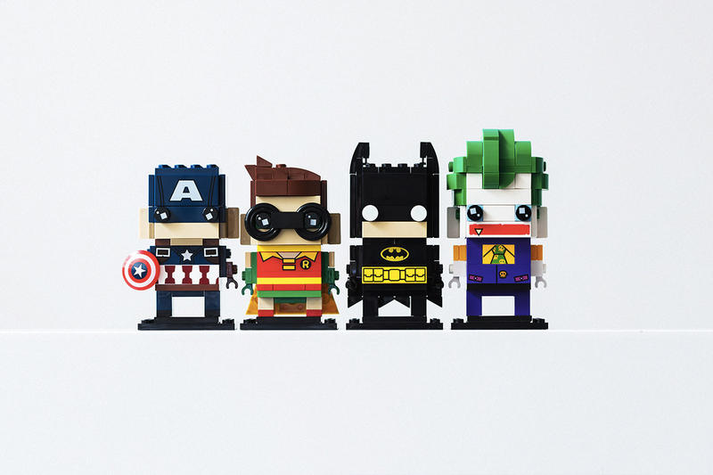 LEGO Brickheadz Collection Launch Batman Beauty And The Beast Pirates Of The Caribbean