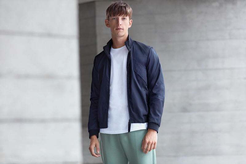 Lou Dalton x Jaeger Men's Collection 2017 Tailoring Sportswear Athleisure