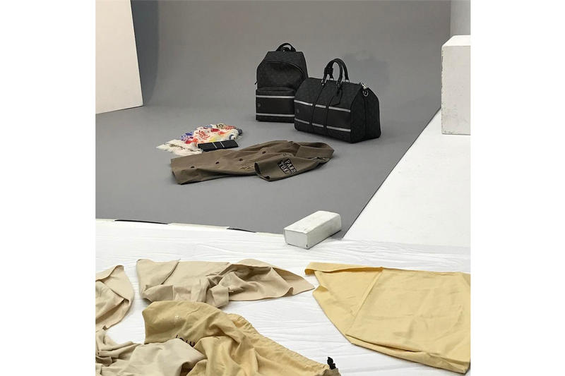 Louis Vuitton fragment design Upcoming Collaboration Items Bags T-shirt