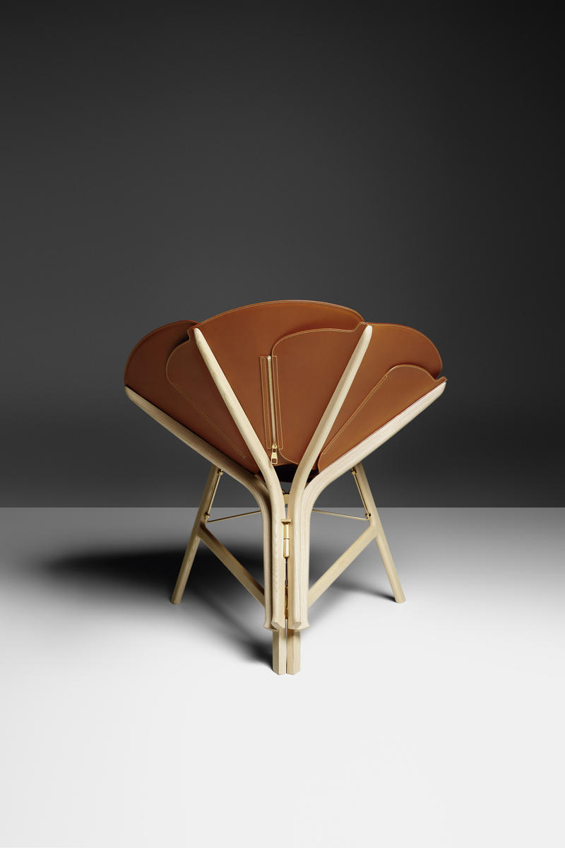 Louis Vuitton Objets Nomades Leather Chair