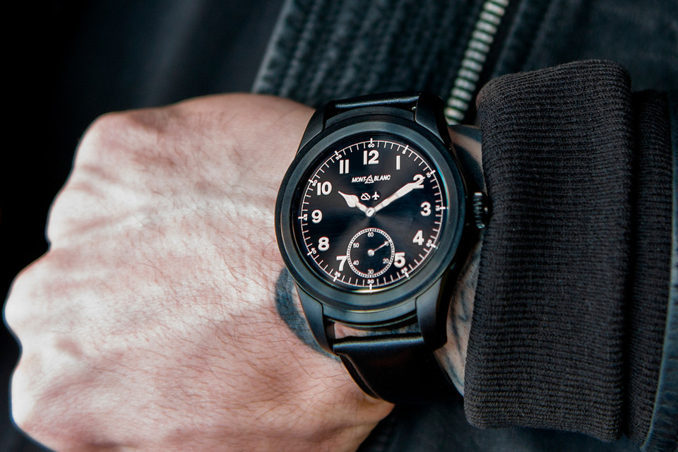 ce324b00273 Montblanc Debuts Its Customizable Summit Smart Watch