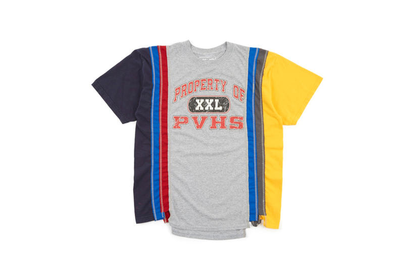 Needles Reconstructed 7 Cuts Vintage T-Shirts