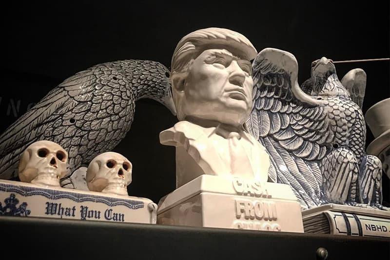 NEIGHBORHOOD Trump Incense Chamber 2017 Fall Winter