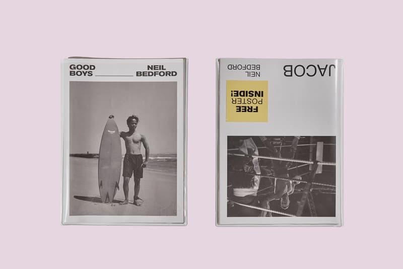 Neil Bedford Photography GOODBOYS/JACOB Newsprint Journal