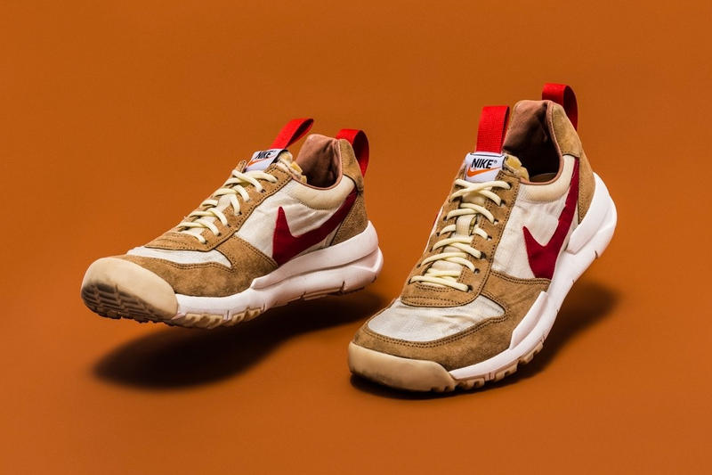 "quality design 0c3e3 b9855  3,000 USD Tom Sachs x Swoosh ""Mars Yard"" sneakers."