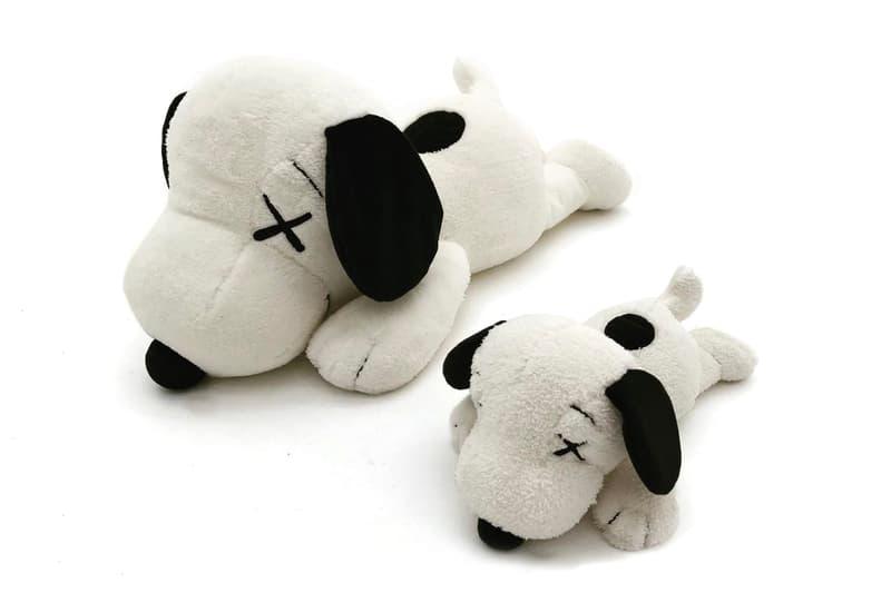 NIGO KAWS Uniqlo Peanuts UT Snoopy Plush Toy