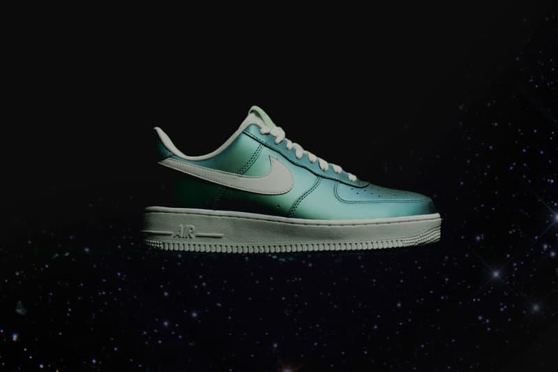 "Nike Air Force 1 Gets a Shiny ""Fresh Mint"" Remix"