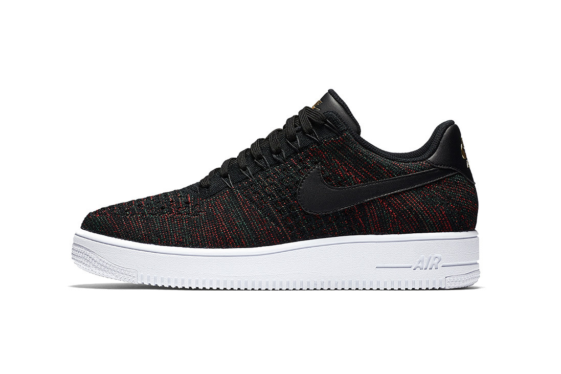 Nike Air Force 1 Low Flyknit Burgundy Hypebeast