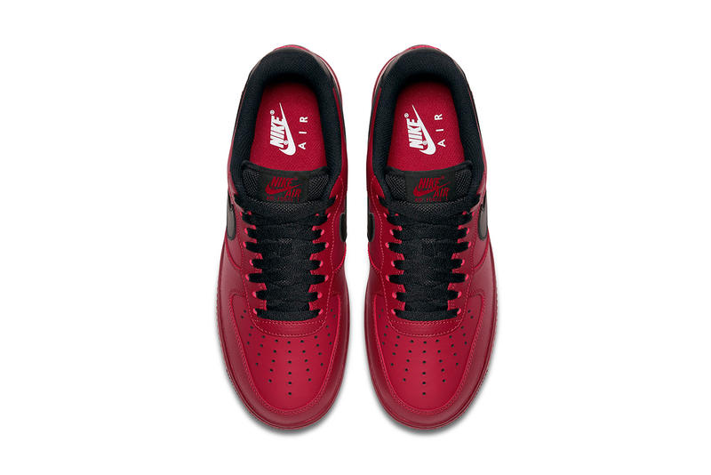 "Nike Air Force 1 Low ""Redwood"" Swoosh Burgundy Black Spring Summer 2017"