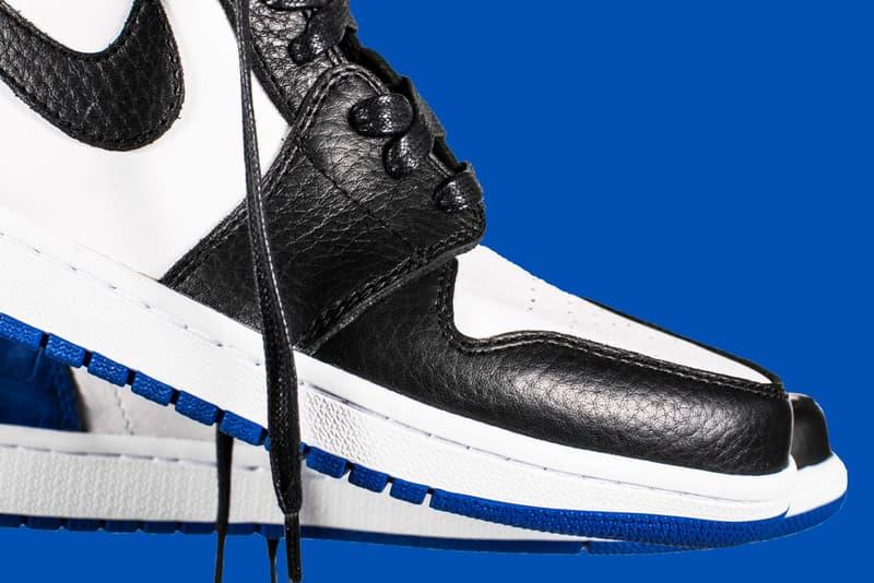 fragment design x Air Jordan 1 by Shoe Surgeon
