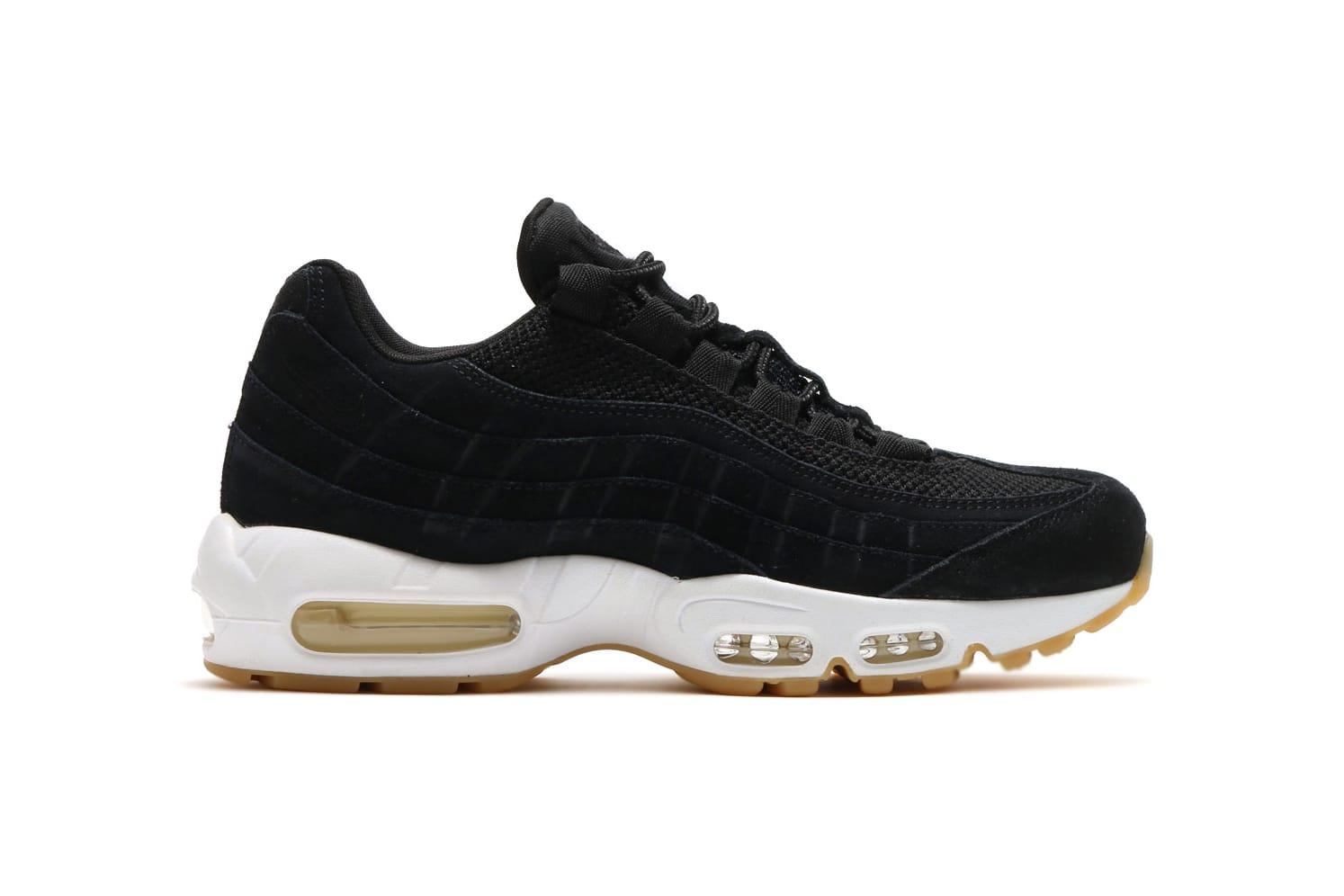 Nike Air Max 95 PRM Black/Muslin-White