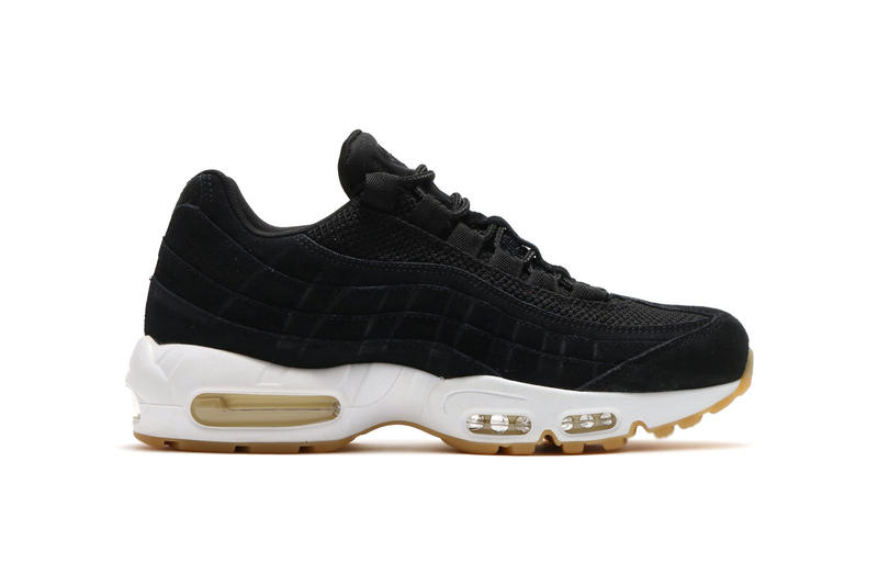 timeless design 4d3a9 82801 Nike Air Max 95 PRM Black White Muslin Gum Sole