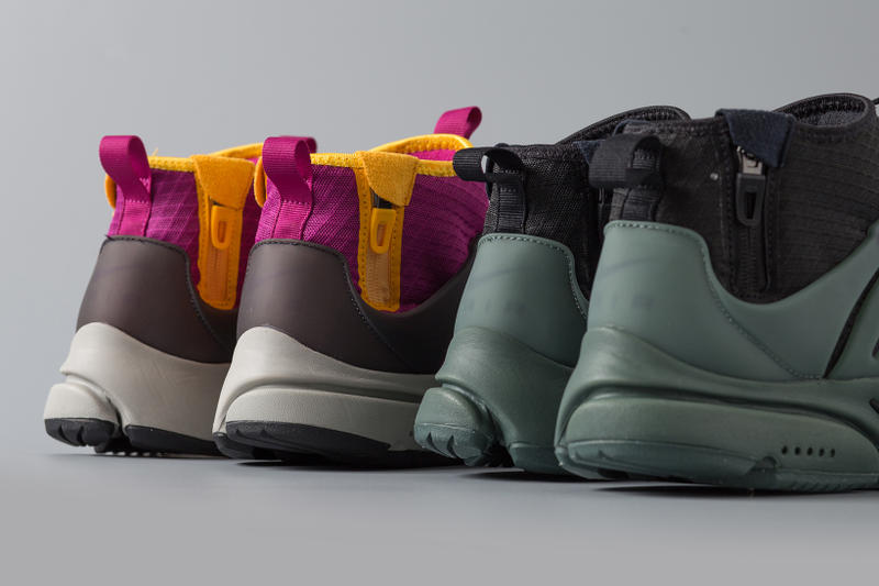check out 27a55 3356e Nike Air Presto Mid SP ACRONYM Purple Grey Black Green