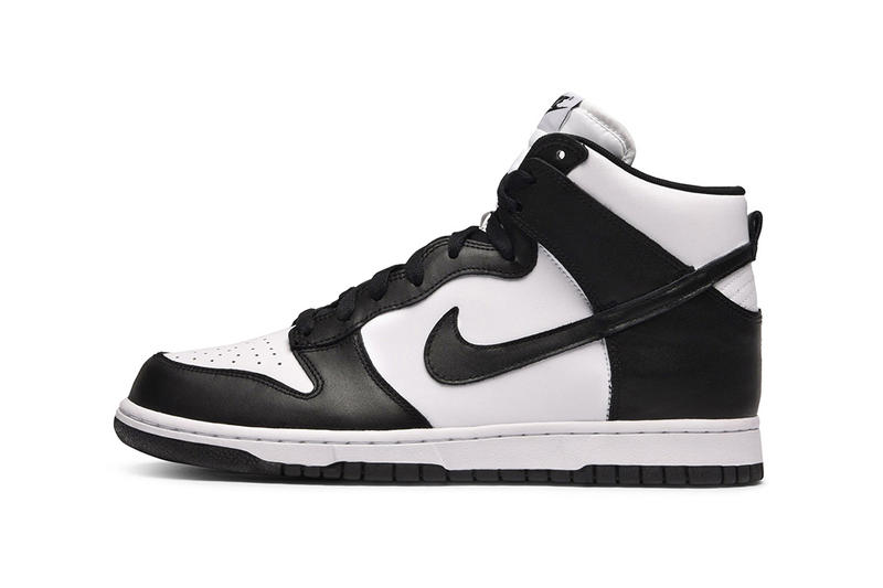 outlet store 2e6ca 623c0 Nike Dunk High Black White