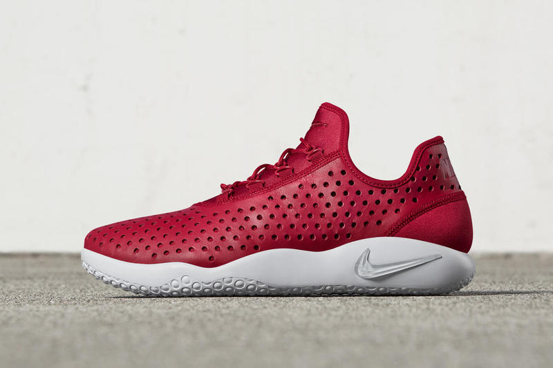 d04283b7104c Nike Drops a Red Colorway of Its Flight-Inspired Fl Rue