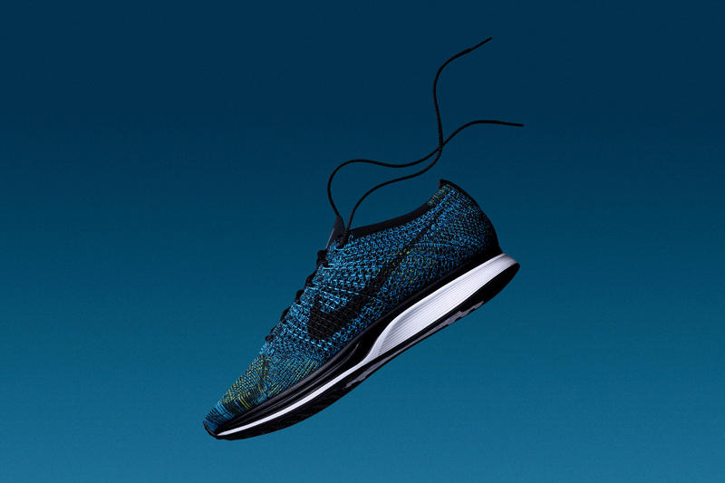 Nike Flyknit Racer Crew Blue