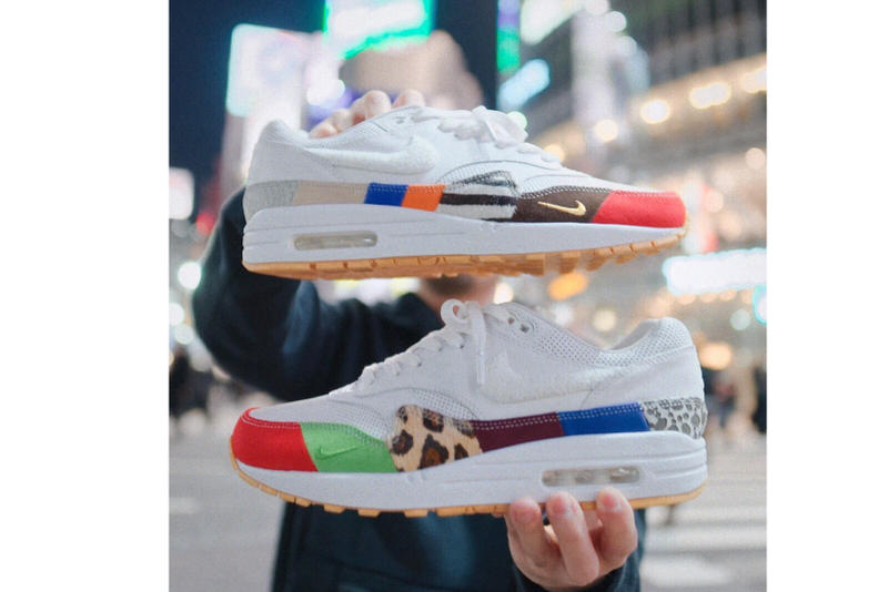 "Nike Friends and Family Air Max 1 ""Master"" Swoosh Air Max Day White upper"