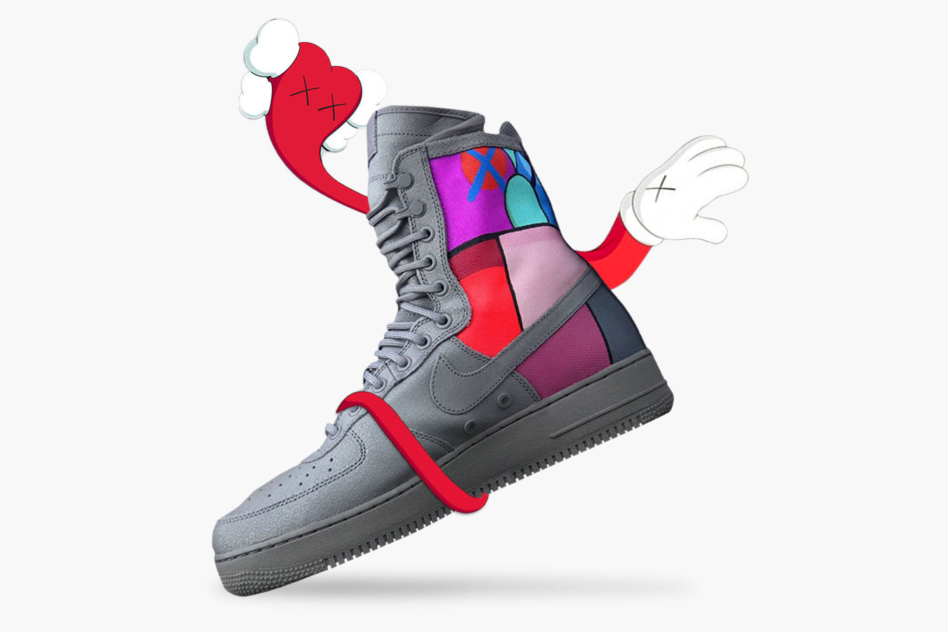 From a KAWS-inspired SF-AF1 to a VLONE x Y-3 Qasa High collaboration.