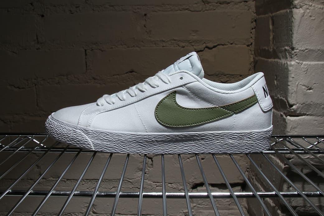 Nike Sb Zoom Blazer Low Canvas Hypebeast