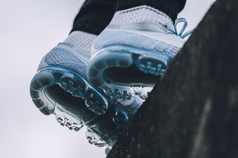 Nike Air VaporMax Pure Platinum Sneakers Running Shoes Fashion Footwear