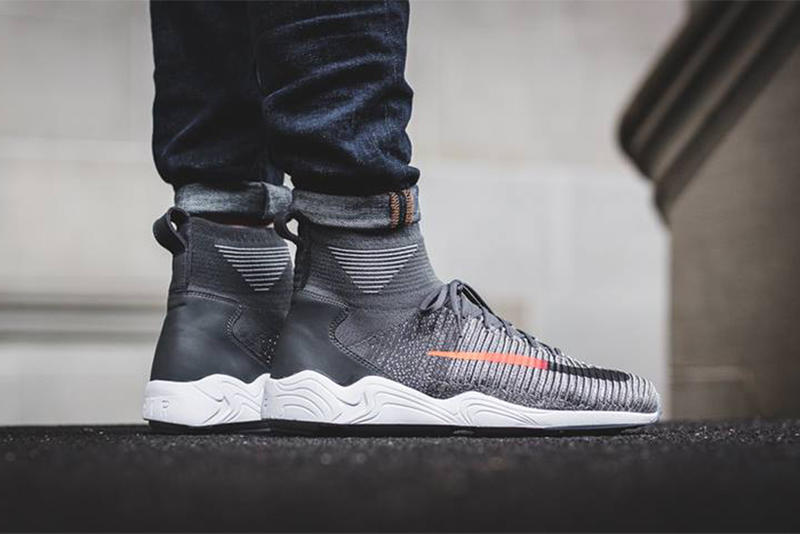 Nike Zoom Mercurial Flyknit Dark Wolf Grey