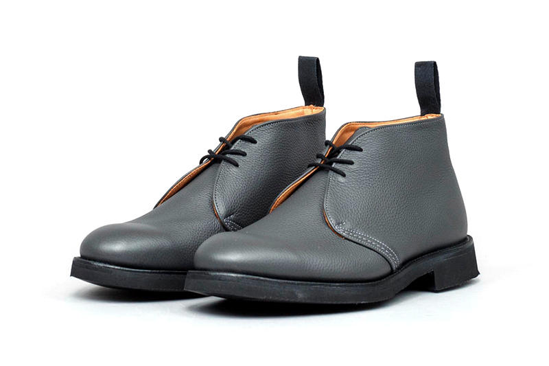 Nitty Gritty Tricker's Shrunken Grain Derby Chukka Boot