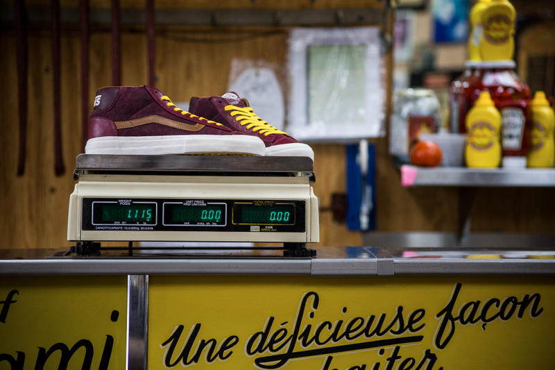 Off The Hook Vault by Vans Deli Edition Mid Skool 77 LX Montréal Smoked Meat Sandwich