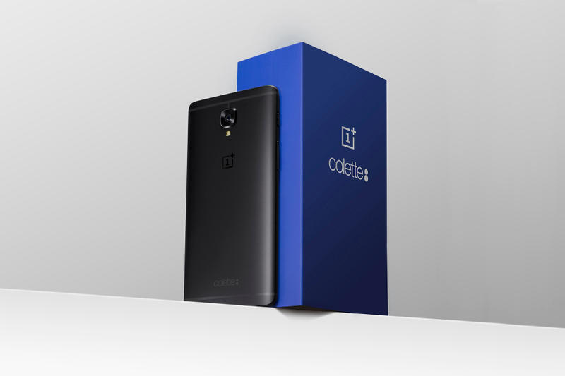 Colette and OnePlus Debut Collaborative 3T Model