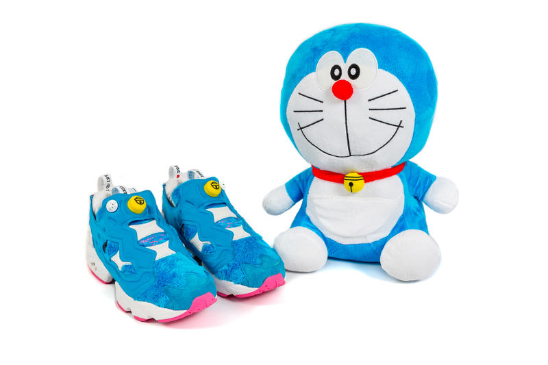 Packer Shoes atmos Reebok Instapump Fury Doraemon