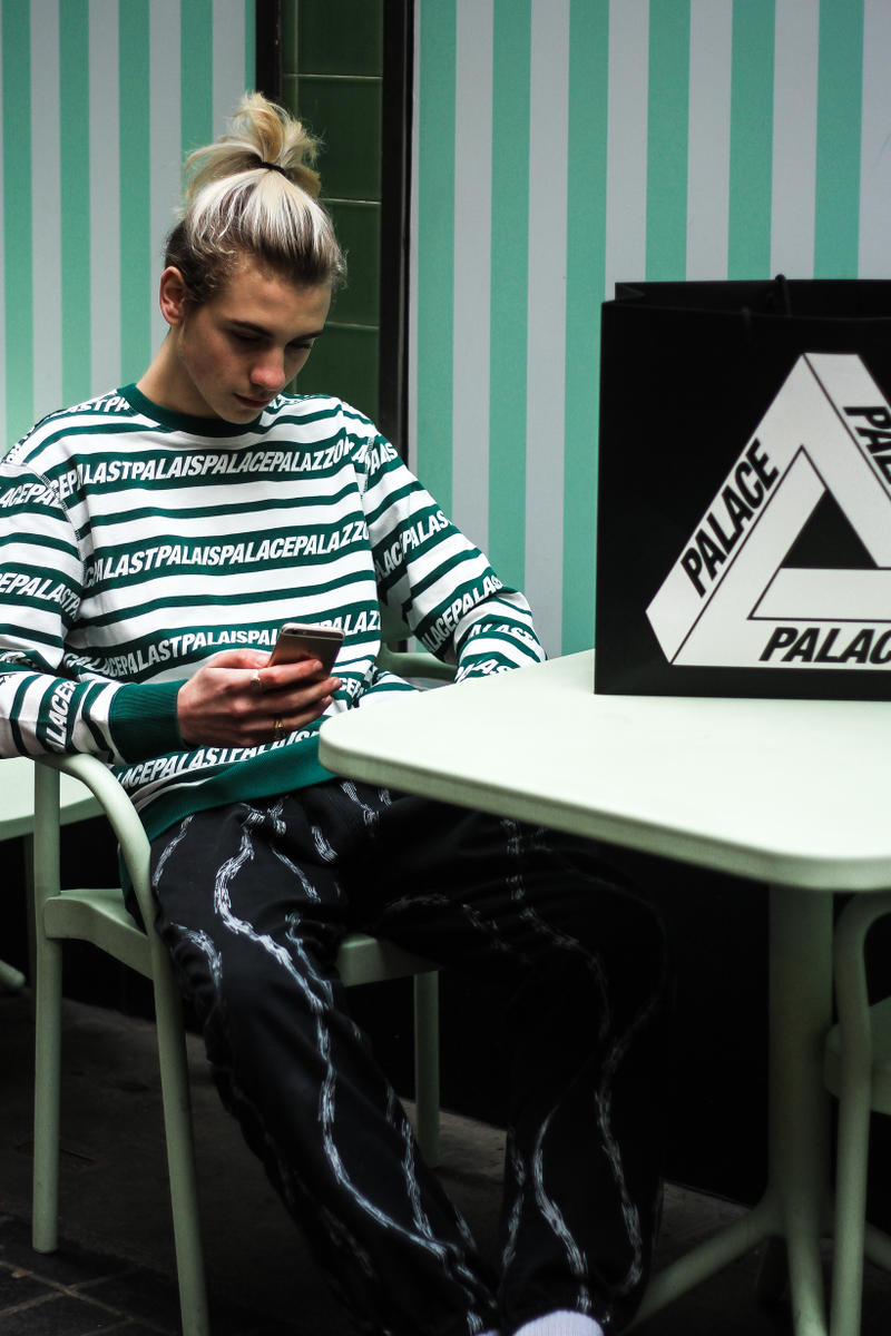 Palace Spring Summer 2017 Delivery Streetstyle Photos Calabasas Supreme The North Face