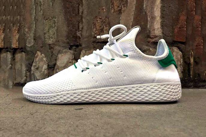 new product 52823 487b9 Pharrell Debuts New adidas Originals Human Race Sneakers ...