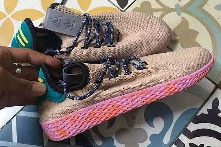 4517367fa A First Look at Pharrell s Latest Colorway for the Human Race Sneaker