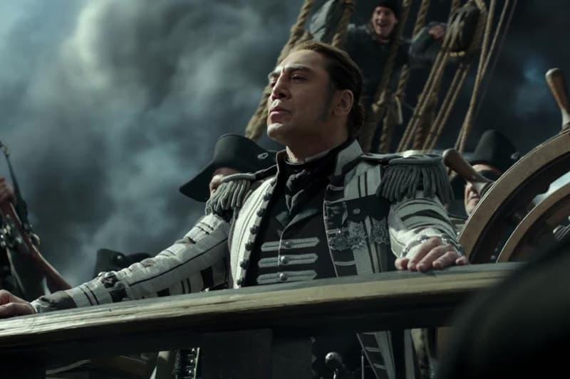 Pirates of the Caribbean Dead Men Tell No Tales Captain Salazar Video Trailer Disney Johnny Depp Javier Bardem