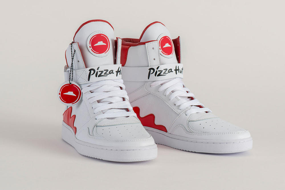 Pizza Hut Pie Tops: Sneakers That Order Pizza
